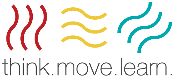 think.move.learn. Logo